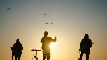 Oostendse zonsondergang voor heel België te zien op VTM en RTL