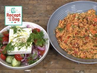 Recept van de dag: Griekse stijl garnalen in tomatensaus