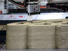 Betonnen loopbrug van Tilburgse ontwerper rolt uit de 3D-printer
