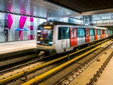 Steekpartij in metro in Amsterdam-West, politie zoekt getuigen