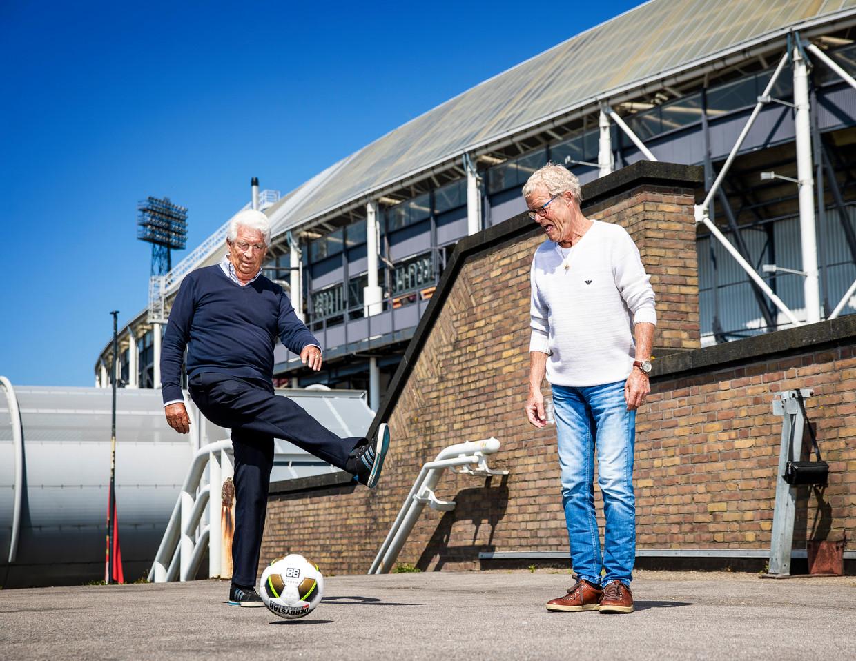 Guus Haak en Piet Romeijn. Beeld Jiri Büller