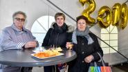 Hammenaren genieten van nieuwjaarsreceptie op Marktplein