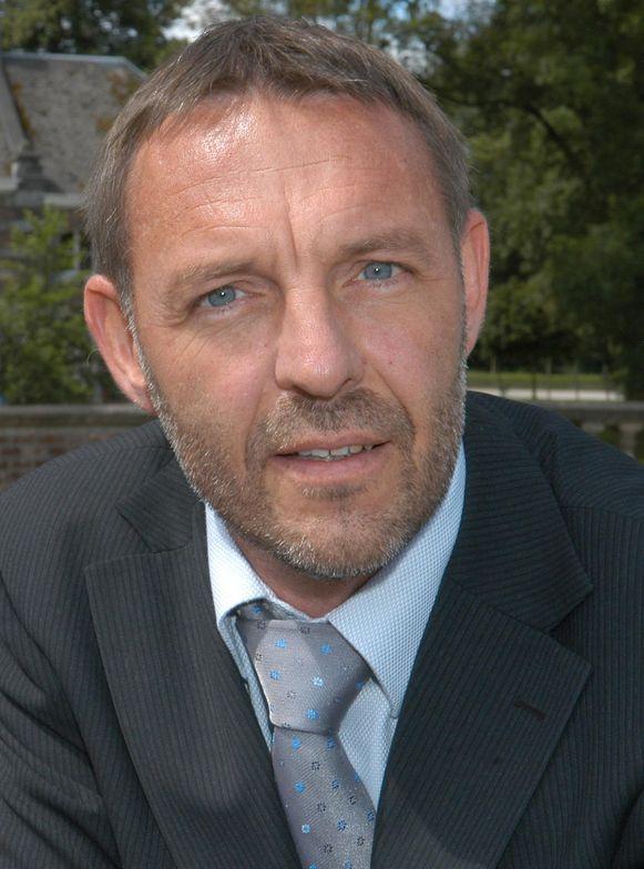 Burgemeester van Wortegem-Petegem Luc Vander Meeren (Open Vld).