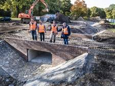Stadsbeek 't Bruggert in Enschede krijgt vorm