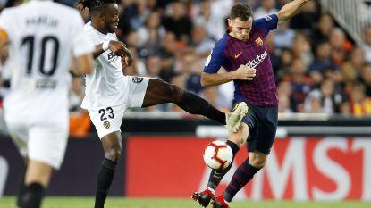 Barça, met Vermaelen, ziet Messi heerlijk gelijkmaken maar kan opnieuw niet winnen in La Liga