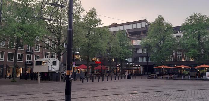 Israëlische ambassade aan het Buitenhof in Den Haag