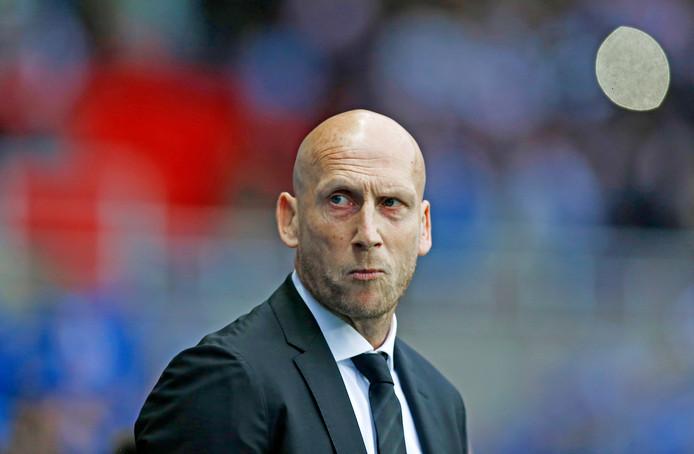 Jaap Stam is de nieuwe trainer van PEC Zwolle.