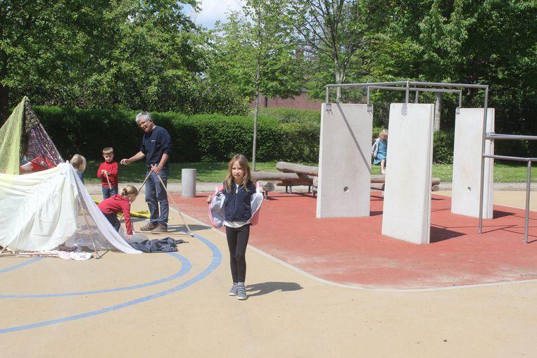 Speelterrein Philipsplein feestelijk geopend