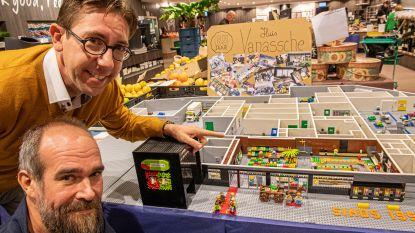 VIDEO: Huis Vanassche krijgt voor jubileum gedetailleerde Lego-versie