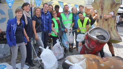 JCI maakt straten schoon op World Cleanup Day