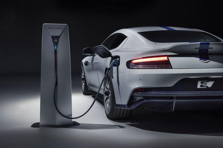 De Aston Martin Rapide E had de eerste elektrische auto van het merk moeten worden.
