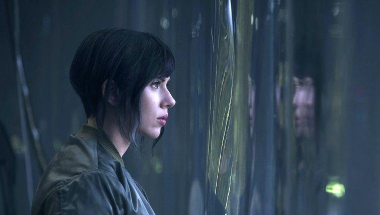 Scarlett Johansson in Ghost in the Shell Beeld