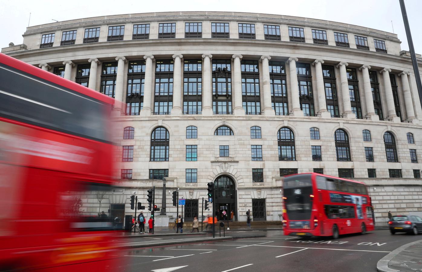 Het hoofdkantoor van Unilever in Londen.