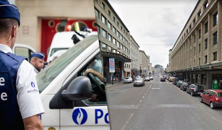 De jongeman werd in de Kantersteen, toen hij de straat overstak, aangereden door een voertuig van de anti-overvalbrigade.