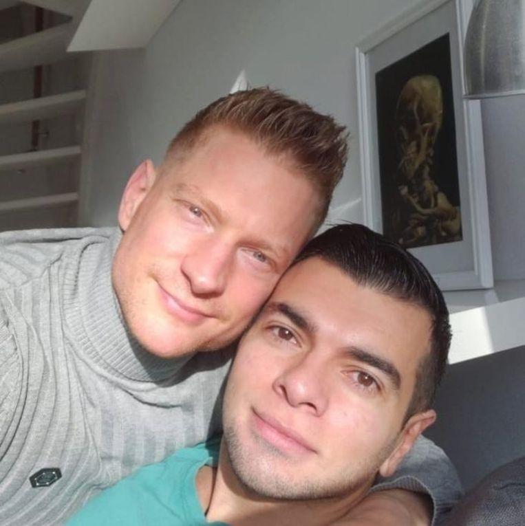 Daniel en Fabio. Beeld Facebook