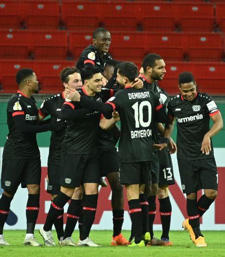 Younes scoort wéér tegen Bosz, maar Bayer Leverkusen bekert verder