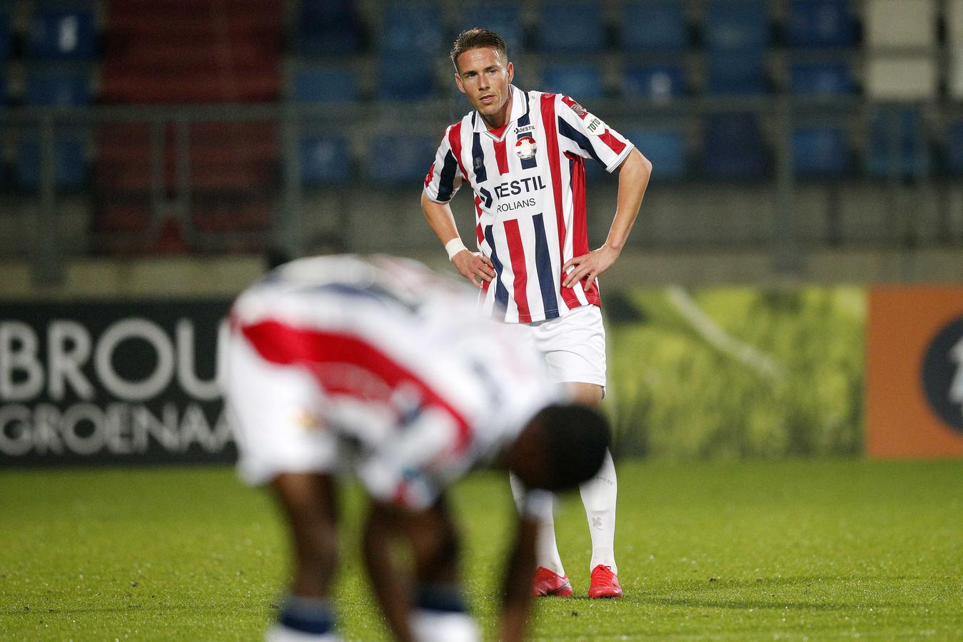 2020-10-17 22:52:31 TILBURG - Paul Gladon of Willem II na afloop van de Nederlandse Eredivisie-wedstrijd tussen Willem II en FC Twente in het Koning Willem II-stadion op 17 oktober 2020 in Tilburg, Nederland.ANP JEROEN PUTMANS