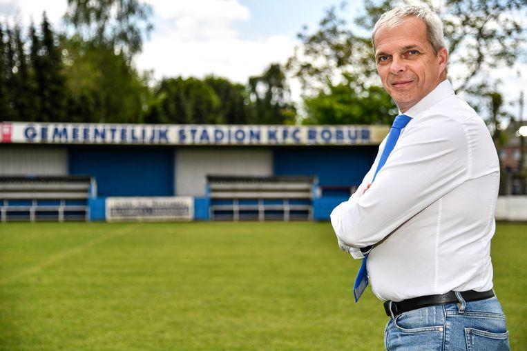 Bruno Lammens ziet de toekomst van de club positief.