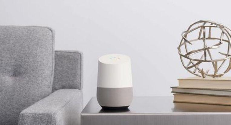 Google Home, een van de eerste AI-producten die op de markt kwamen.