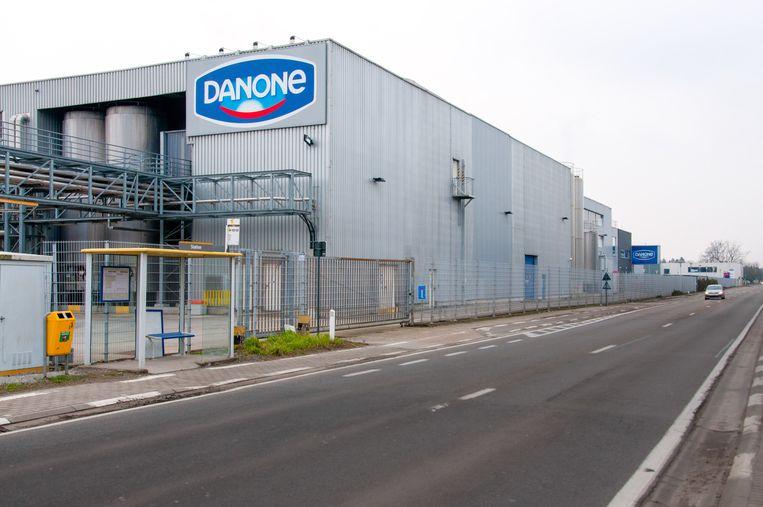 De fabriek van Danone België in Rotselaar.