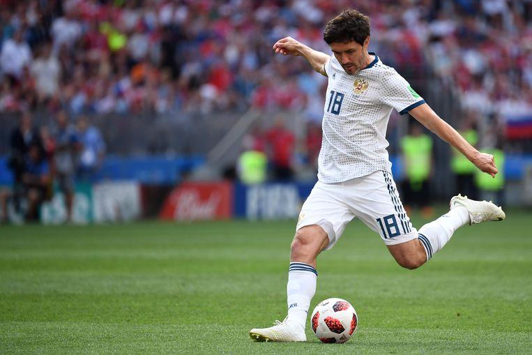 Ook Yury Zhirkov schakelde op het WK in eigen land verrassend Spanje uit.
