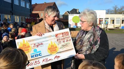 Warmste Uurtje van Klim Op Zandbergen brengt 2.750 euro op voor BiJeVa