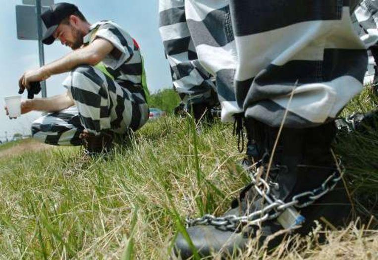 Volgens China zijn er te veel gevangenen in de VS.