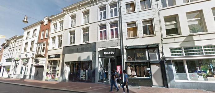Het pand van X-mode in de Visstraat waar Dille & Kamille intrekt