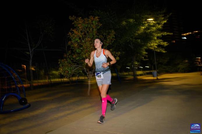 Meriem loopt de zesde van zeven marathons.