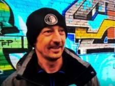 Graffiti-kunstenaar brengt eerbetoon aan overleden Feyenoordfan