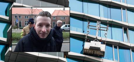 Glazenwasser Wesley valt flauw bij reddingsoperatie op tientallen meters: 'Ik doe dit werk nooit meer'