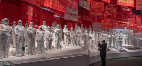 Expositie in Wuhan toont Chinese bestrijding van het coronavirus als groot succesverhaal