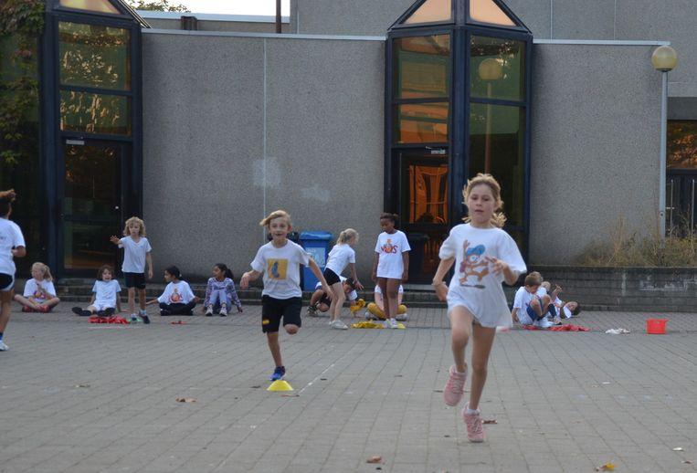 GO!-Basisschool Voskenslaan draagt bewegen en sporten hoog in het vaandel.