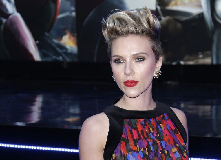 Scarlett Johansson Beeld ap