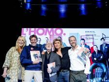 Niet één maar tien mannen op cover van themaglossy L'HOMO