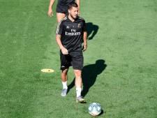Blessé à la cuisse, Eden Hazard devrait être absent pour le premier match du Real en Liga