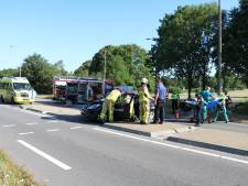 Gewonden na aanrijding tussen meerdere auto's in Doetinchem