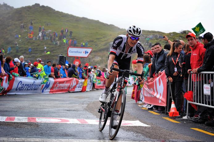Kelderman presteerde sterk in de laatste Vuelta