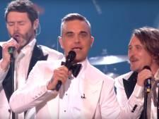 Robbie Williams voor even herenigd met Take That