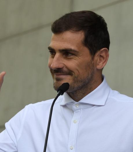 Casillas voorlopig in begeleidingsstaf Porto