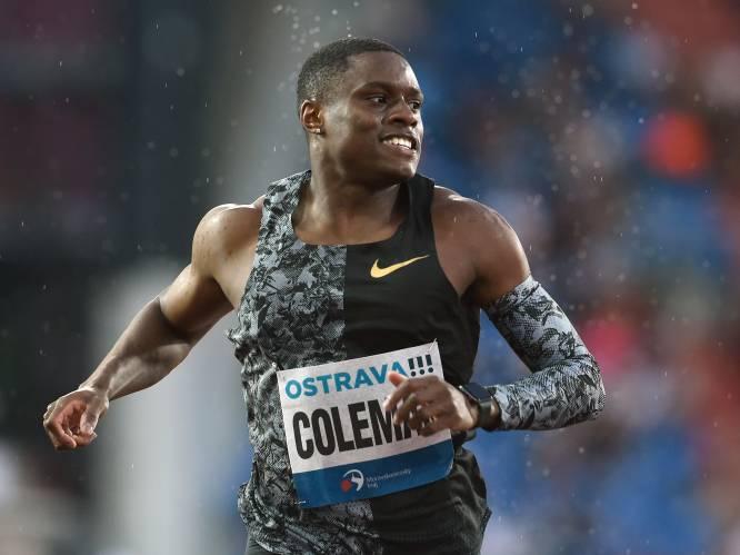 Amerikaanse sprintkampioen Christian Coleman mist Olympische Spelen door schorsing