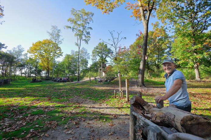 Theo Donkers verwacht zondag veel bezoekers in het Speelbos.