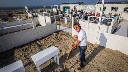"""Daar is de zon, daar zijn de beach bars: """"Vanaf de zon komt piepen, dagen de klanten op"""""""