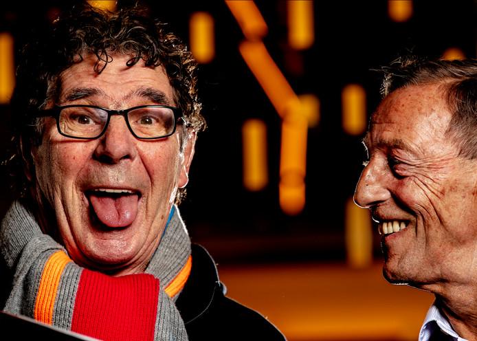 Willem van Hanegem en Johan Neeskens.