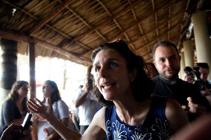 Rebecca Gomperts in Guatamala op een foto uit 2017.