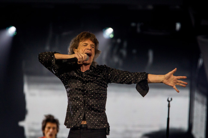 Rolling Stones Amsterdam Arena Mick Jagger