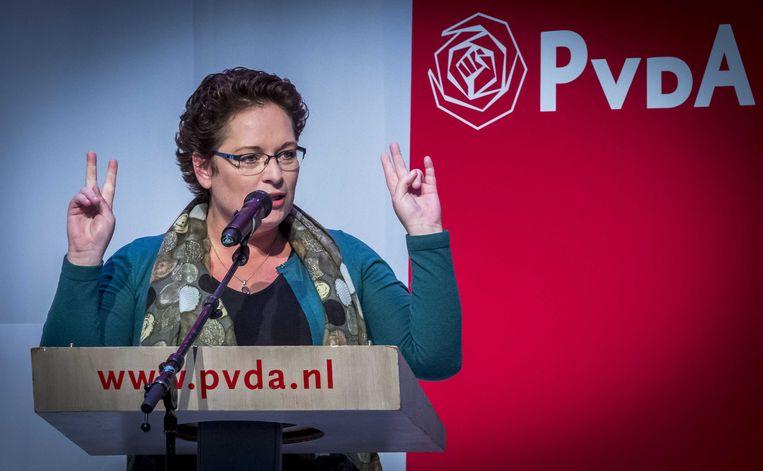 Nelleke Vedelaar heeft het niet in haar systeem. Beeld ANP