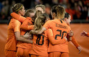 Oranje plaatste zich ten koste van Zwitserland voor het WK van volgend jaar in Frankrijk.
