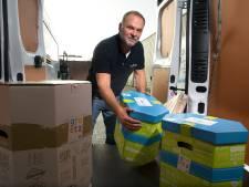 Hoteleigenaar in Achterhoek wordt pakketbezorger na faillissement: 'De schoorsteen moet roken, klaar'