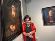 Kunstenares Carin Janssen schilderde met oude technieken de ziel van Rembrandt